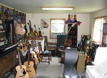Robert Tice Luthier Shop Photo
